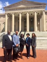 May 2, 2017 OPC's legal team challenging Pepco-Exelon merger at DC Court of Appeals