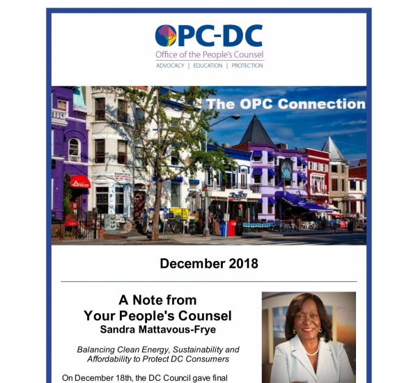 The OPC Connection - December 2018